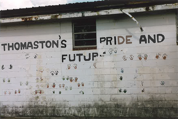 Fig 4: Thomaston's Pride and Future, Thomaston, Alabama